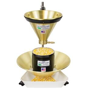 Filling Hopper STand with Quart Cup-300